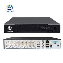 DVR 16CH 8CH 4CH CCTV grabadora para CVBS cámara analógica AHD IP Cámara Onvif P2P 1080P Video vigilancia DVR grabadora registradora