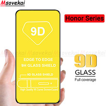 Full Cover Tempered Glass For Huawei Nova 5 Pro 5i P20 Lite 2019 Honor 20 Pro 20 Lite Play 8A Pro 9D Full Glue Screen Protector(China)
