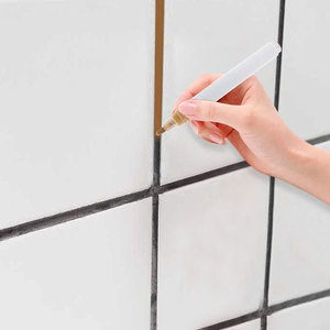 Image 1 - 1 adet karo boşluk onarım kalem su geçirmez mutfak anında seramik dikiş karo zemin onarım Anti kalıp güzellik inşaat araçları