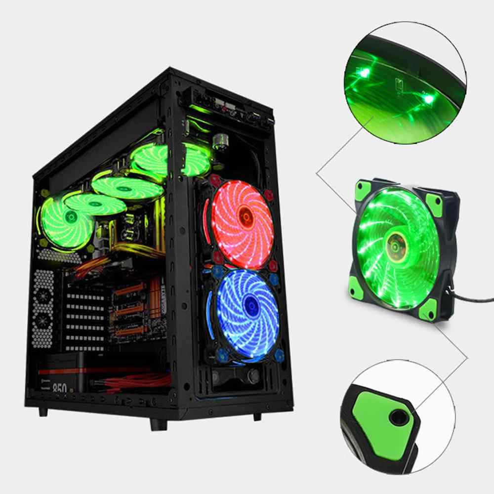 140 Mm Pc Computer 16dB Ultra Stille Ventilator Heatsink Cooler Cpu Koeler Radiator Fan Warmteafvoer Radiator Cooler 3P ide 4pin