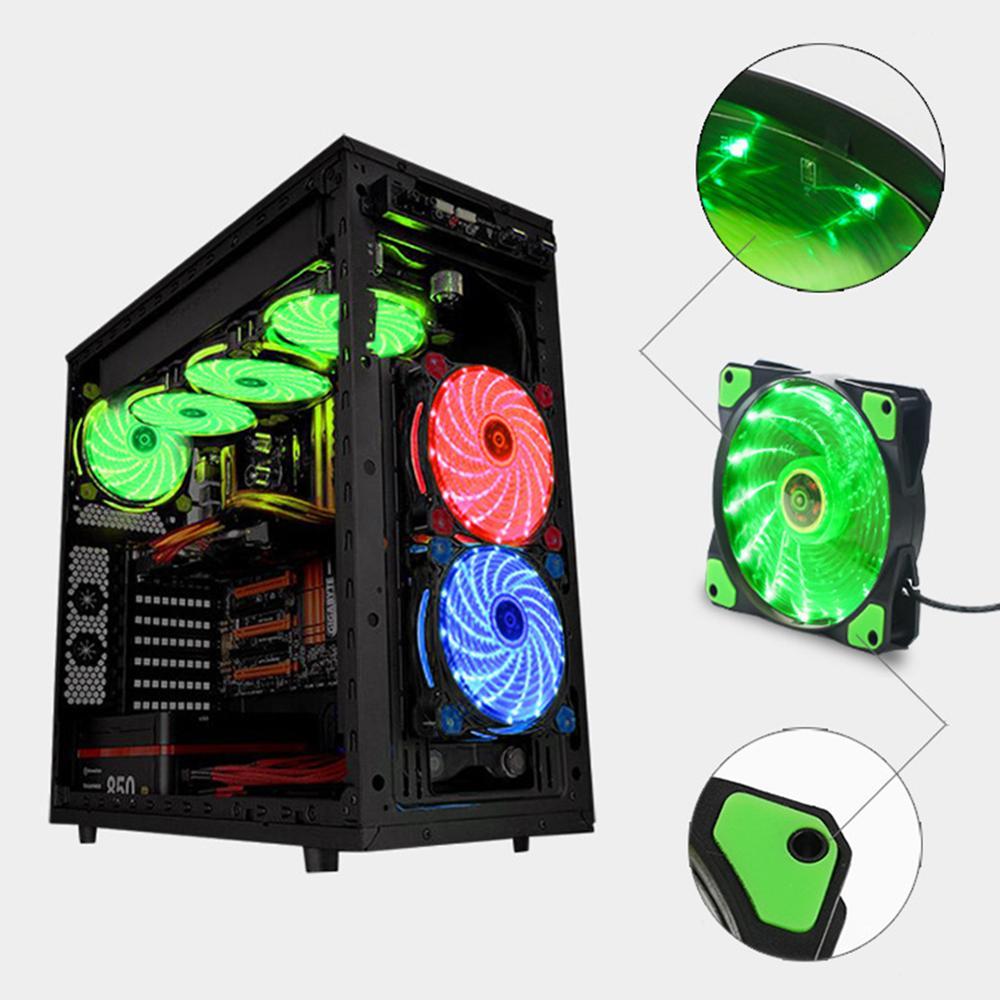 120mm PC Computer 16dB Ultra Silent Fan Heatsink Cooler CPU Cooler Radiator Fan Heat Dissipation Radiator Cooler 3P IDE 4pin