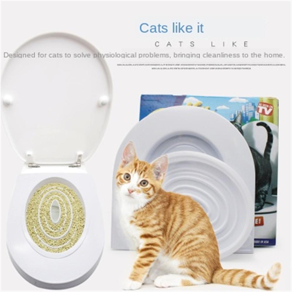 hnnew Pet Collar 3 Piezas//Set de Bandeja de Inodoro para Gatos Caja de Arena entrelazada para la Cama de la Caja de la Bandeja de la Mascota Suministros para Mascotas