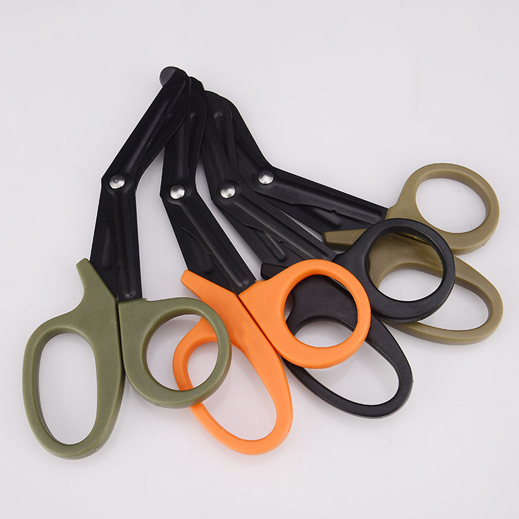 Tactical Gauze Trauma Bandage Rescue Scissor Survive Emergency First Aid Shear Outdoor Medical Paramedic Doctor Nurse