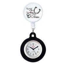 Alk медсестра карманные часы милый высококачественный силиконовые