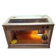 Черепаха, ящерица, паук, ежик и инкубатор для рептилий, pet box, pet box, чтобы отрезать Наклонный skylight