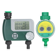 Intelligence Electronic Water Timer Rubber Gasket Design Outdoor Garden Digital Irrigation Controller Automatic Watering System