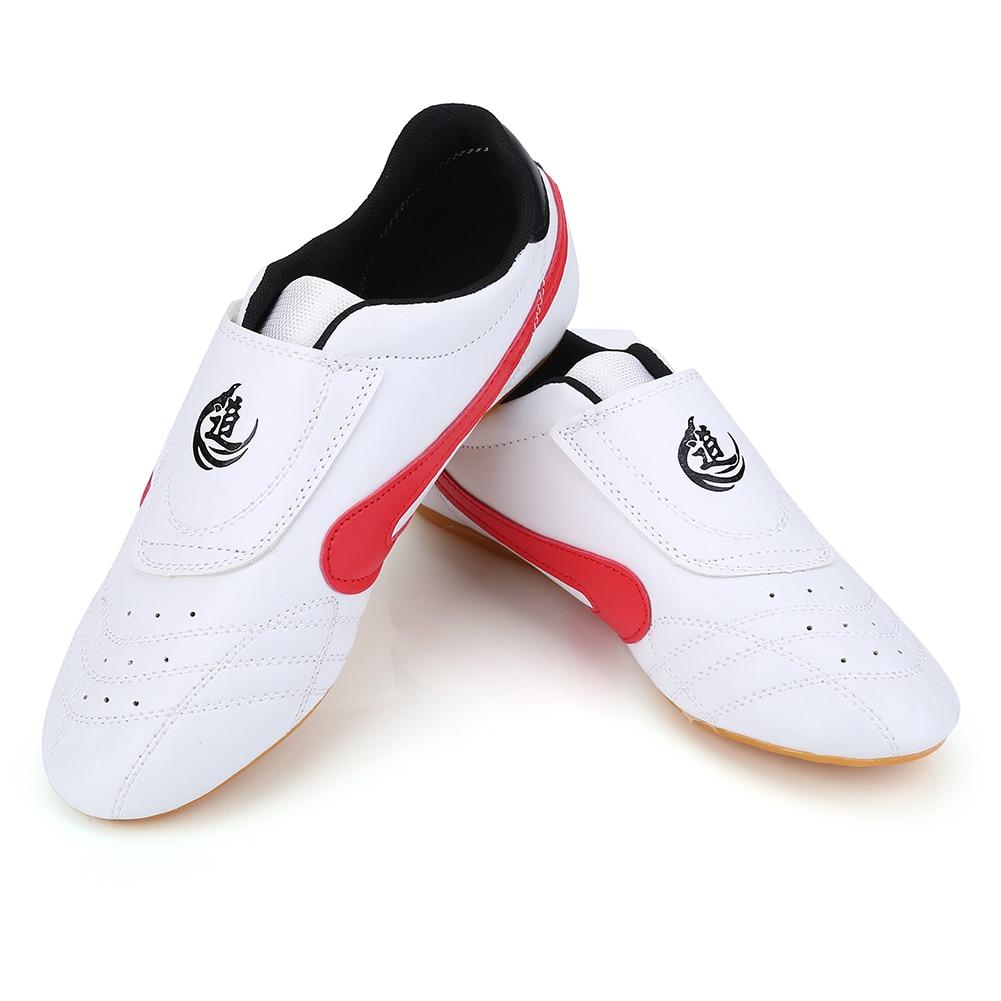 Белая дышащая обувь в полоску для тхэквондо, унисекс, для занятий тхэквондо, боксом, кунг фу, Тай Чи, спортивная обувь для занятий спортом, обувь для боевых искусств для детей и взрослых| |   | АлиЭкспресс