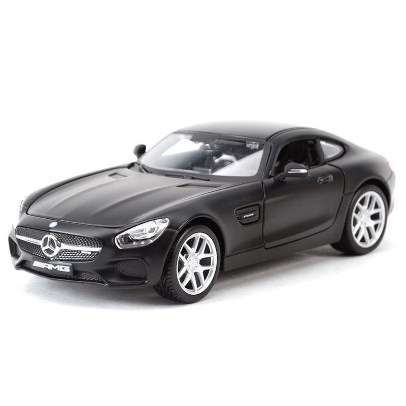 Maisto 1:24 Mercedes AMG GT Sports Car Static Simulation Diecast Alloy Model Car