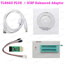 TL866II Plus Universal Minipro Programmer+ 24 Items With Test Clip TL866 PIC Bios High Speed Programmer(China)