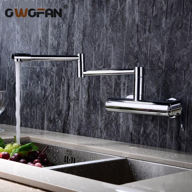 Nouveau robinets d'eau en laiton matériel mélangeur robinet cuisine évier robinet mitigeur cuisine eau mélangeur Top qualité 360 rotation grue