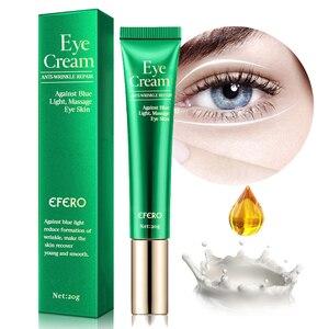 Image 2 - EFERO Anti Rimpel Crème Eye Serum Anti Aging Donkere Kringen Hydraterende Droge Huid Tegen Blauw Licht Nacht Reparatie Peptide Oog crème