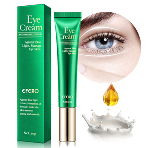 Image 2 - EFERO Anti arrugas crema ojos suero Anti envejecimiento Círculos oscuros hidratante piel seca contra luz azul noche reparación péptido ojo crema