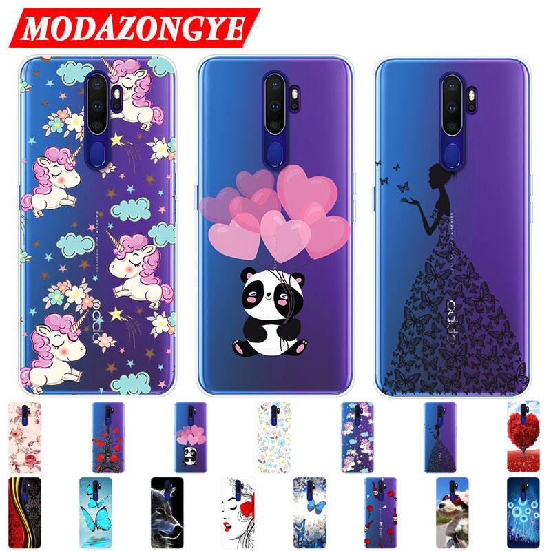 OPPO A9 2020 Case OPPO A9 2020 Case Silicone TPU Phone Case For OPPO A9 2020 A 9 A92020 Case Soft Back Protective Cover