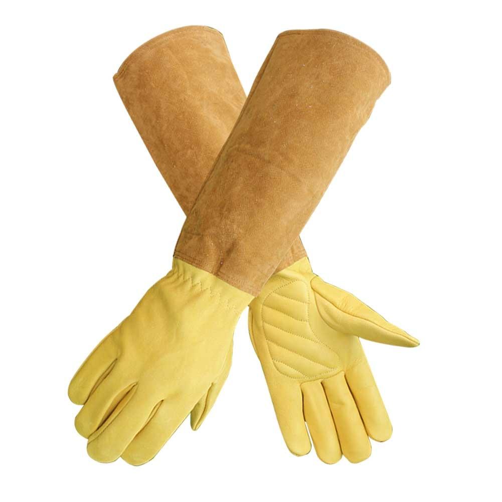 Welding Long Sleeve Trimming Working Puncture Resistant Durable Gardening Gloves Soft Thorn Yard Beekeeping Rose Pruning