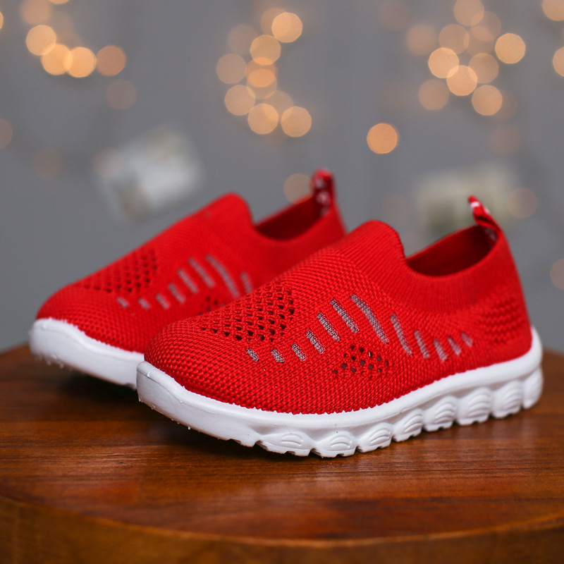 2020 Spring Summer Kids Shoes Children's Casual Sneakers Air Mesh Cut-outs Breathable Toddlers Boys Girls Sports Shoes Soft New