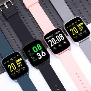 Image 1 - KW17 2020 mężczyźni kobiety inteligentny zegarek IP68 dzieci zegar pulsometr pomiar podczas snu Smartwatch opaska monitorująca aktywność fizyczną dla IOS Android