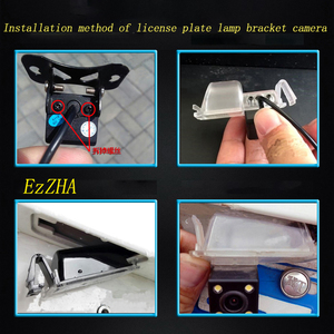 Image 5 - Luzes da placa de licença do suporte da câmera de visão traseira do carro ezzha para mercedes benz cls class 300 w219 r300 r350 r500 ml350 w211 251