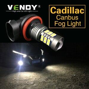 1 шт. Автомобильный светодиодный фонарь лампа H8 H11 H10 9145 H16 HB4 PSX24W P13W HB3 для Cadillac CTS XLR SRX STS DTS ATS XTS Escalade Eldorado