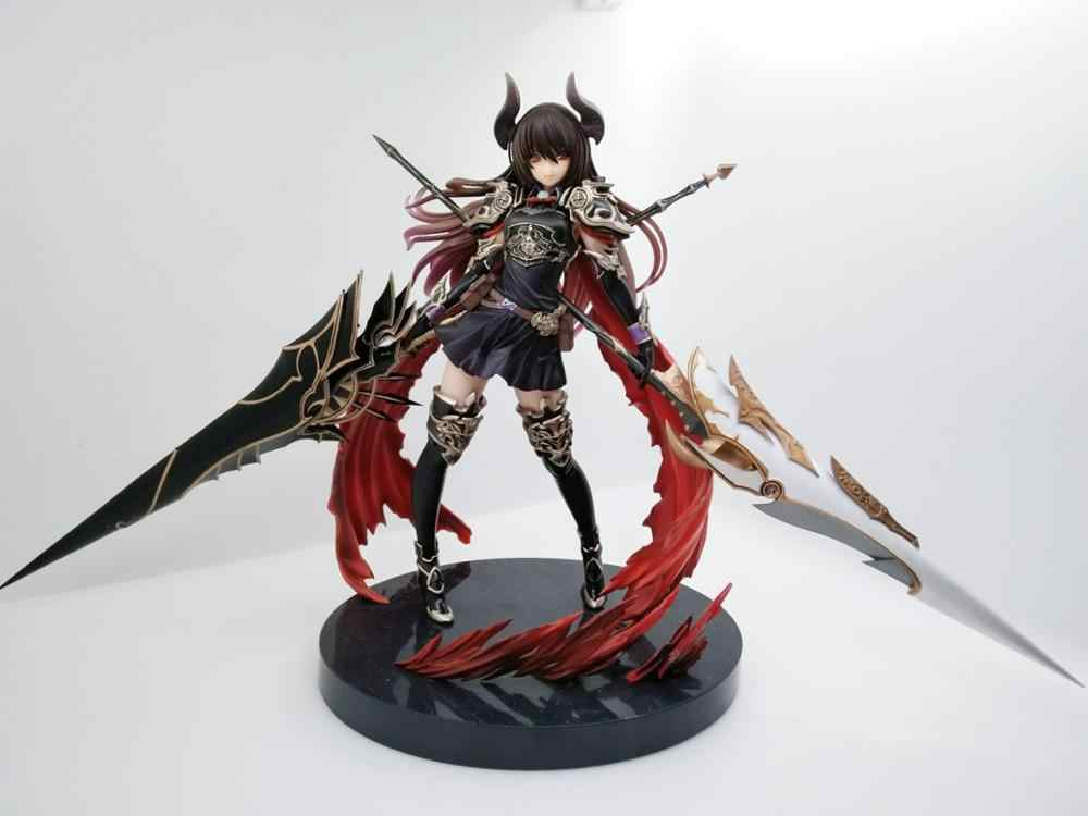 Permainan Anime Rage Of Bahamut Dark Dragon Knight Deardragoon Forte Yang Setia Kotobukiya PVC Action Figure Mainan Model 28 Cm