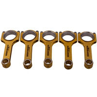 Conrod Connecting Rods for Volvo 850 C70 V70 S60 2.3 T5 R AWD B5234T 4340 Racing Conrod Connect rods 139.5mm ARP Bolts