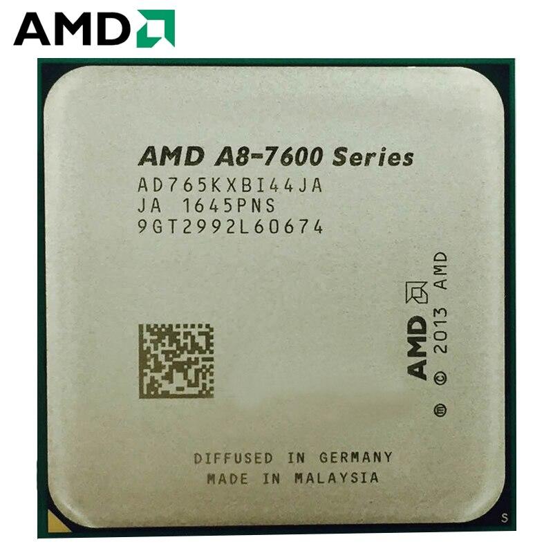 AMD A8-Series A8 7650K APU A8 7650 CPU Processor 4MB 95W 3.3GHz Quad-Core AD765KXBI44JA Socket FM2+