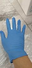 100PCS blue Disposable Gloves…