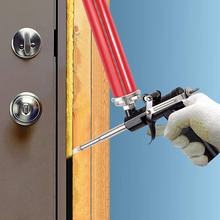 Spray-Application Expanding Paint-Gun Foam-Sprayer Power-Tools Aluminum for Door Window