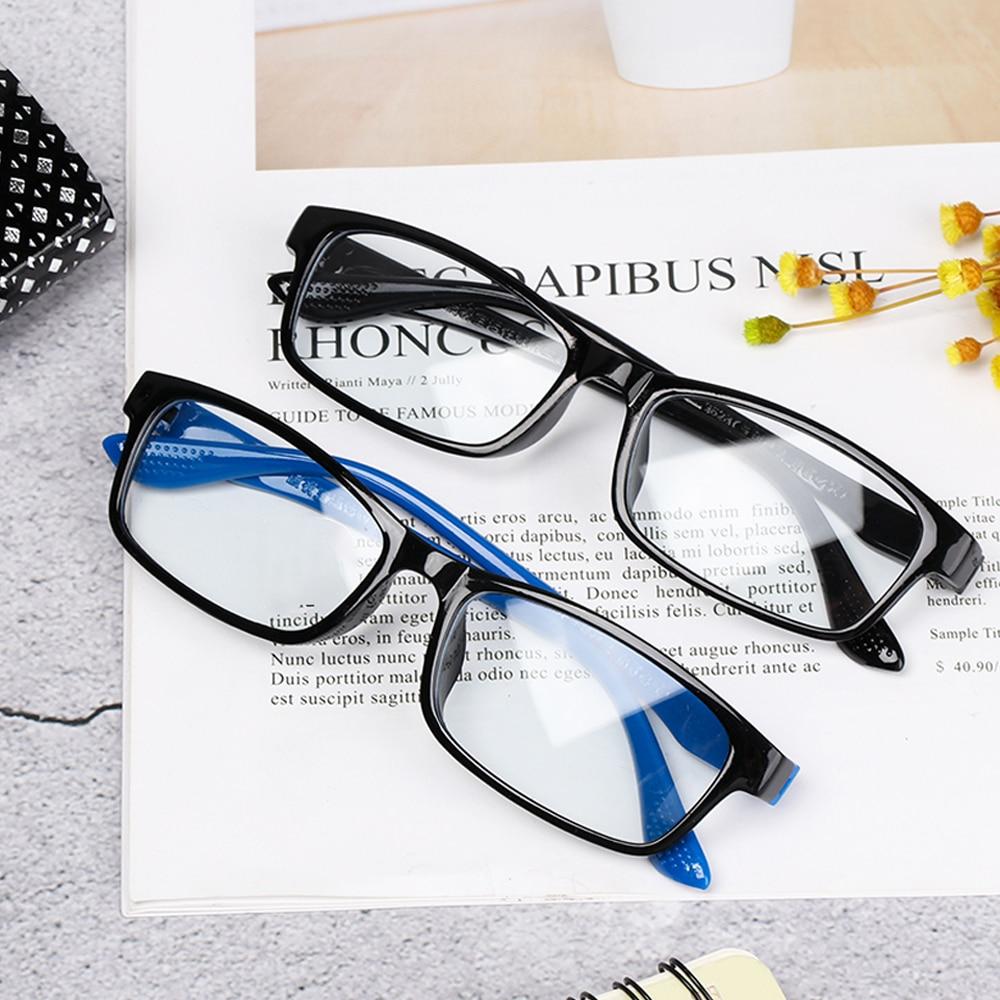 New Ultra-Light Super Tough Reading Glasses Frame For Men And Women Anti-Blue Paint Reading Glasses Reading Glasses