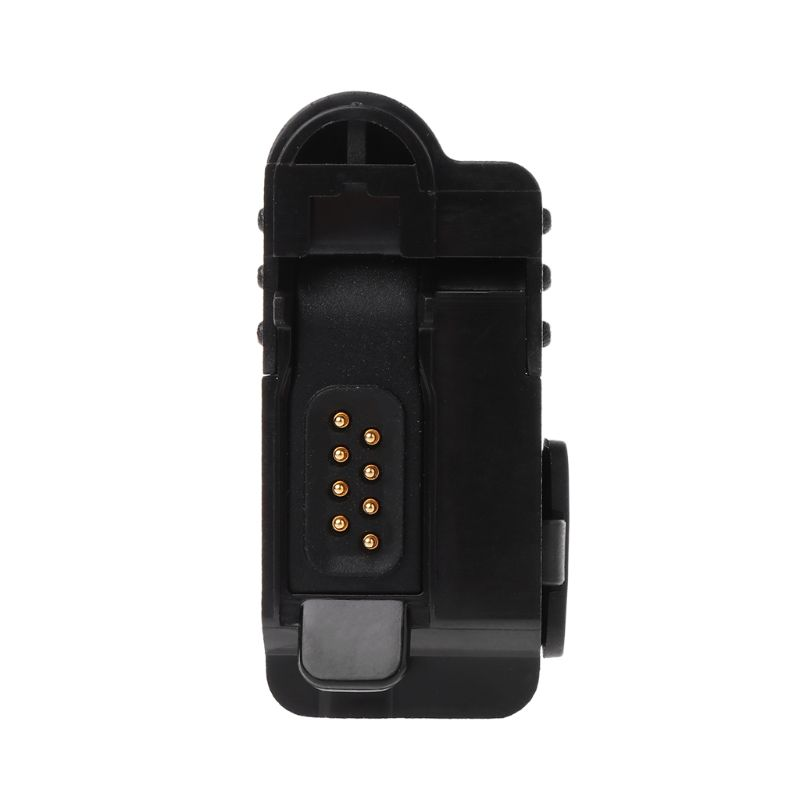 Audio Audio Adapter Connector For Motorola XiR P6600 P6628 XPR3500 DEP550 MTP3550 MTP3500 MTP3250 MTP3100 MTP3200 Walkie Talkie