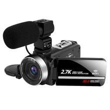 Video Digital Camera WiFi Night Vision 2.7 k Vlogging Camcor