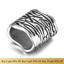 316L Stainless Steel Slider Beads Hole 11x7mm Polished Accessories Slide Charms for DIY Bracelet Jewelry Making