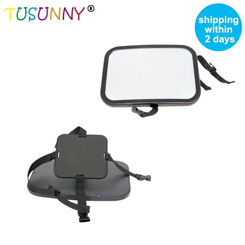 TUSUNNY Safety Wide Clear Rear View Baby Car Back Seat Mirror For Car,Baby Car Mirror For Back Seat Strapped