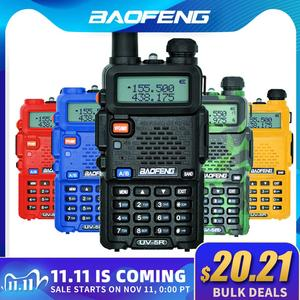 Image 1 - Baofeng UV 5R Walkie Talkie Professionele Cb Radio Station Baofeng Uv 5R Transceiver 5W Vhf Uhf Draagbare UV5R Jacht Ham radio