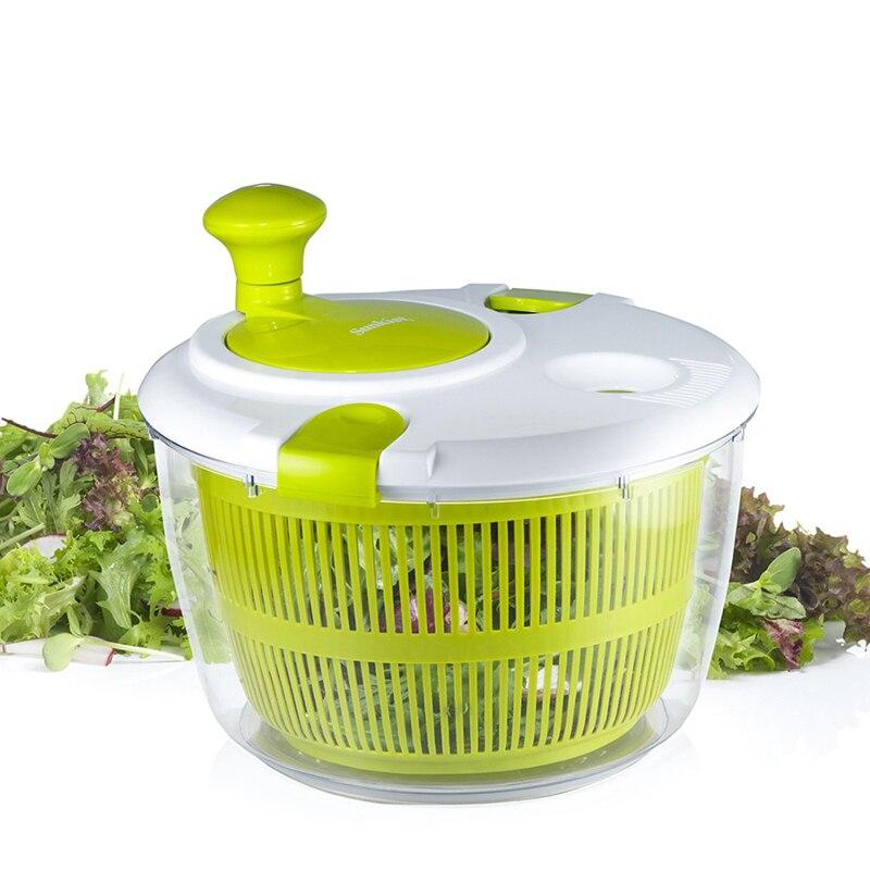 Novas ferramentas de salada tigela enorme salada spinner cozinha ferramentas acessórios secador para vegatables e frutas misturador gadgets