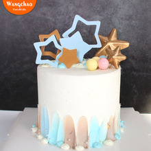 Charming Little Star Cake Topper Happy Birthday Party Supplies Theme Child