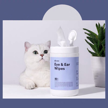 80 PCS/A Lot Pets Dogs Cats Wipe Pet Eye Wet Wipes Dog Cat Tear Stain Remover Pet Eye Grooming Wipes Pet Grooming Supplies 8in1 cat stain and odor exterminator nm jfc s