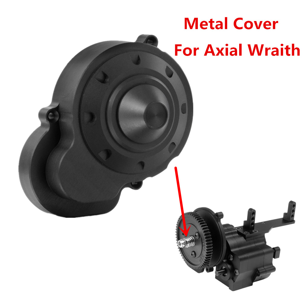 AXSPEED Metal 2 Speed Transmission Gearbox Cover For 1:10 RC AXIAL Wraith 90048 RR10