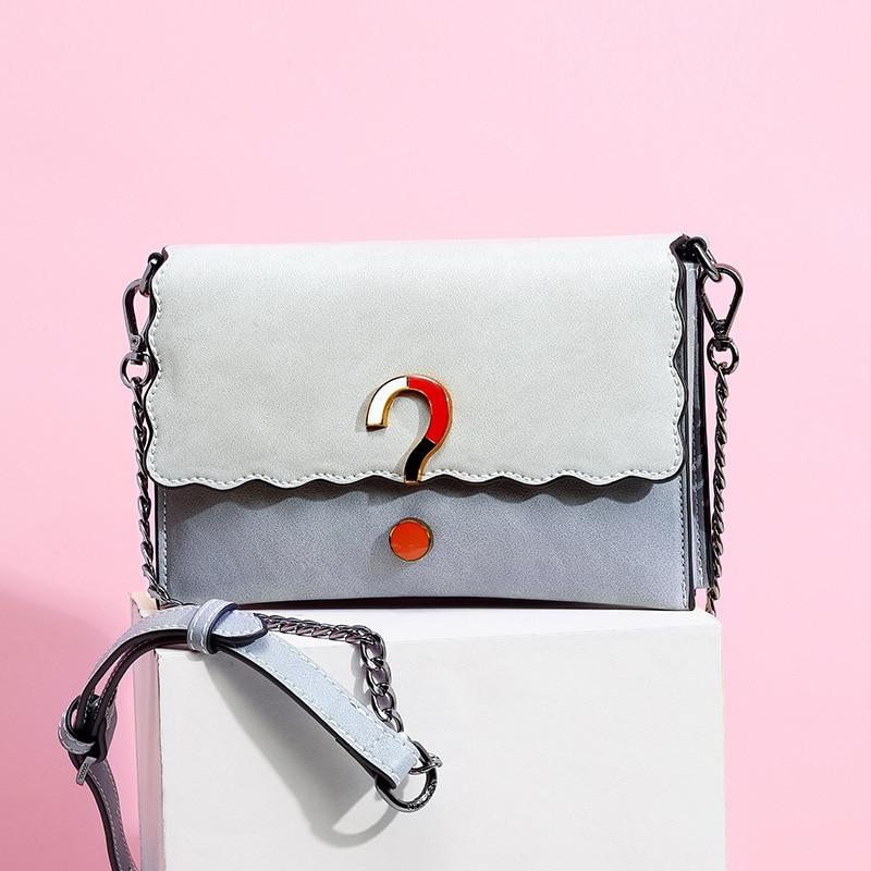 2019 printemps et été nouveau Style chaîne sac à bandoulière carré style coréen sac à bandoulière Guangzhou sac pour femme une génération de F