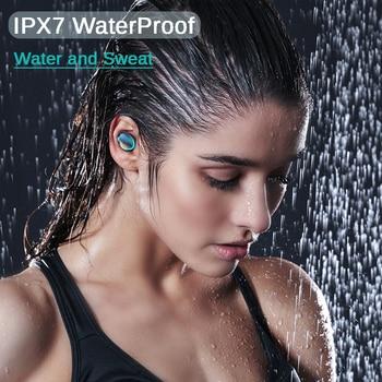 DODOCASE F9 TWS Wireless Earphones Stereo 5.0 Bluetooth Headphones In-Ear Earbuds Handsfree Binaural Call Headset For Xiaomi 5
