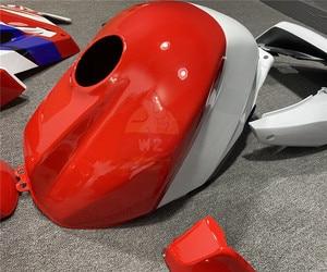 Image 5 - Honda için VFR800 VFR 800 2002 2003 2004 2005 2006 2007 2008 2009 2010 2011 2012 motosiklet kırmızı vücut ABS enjeksiyon kaporta kiti