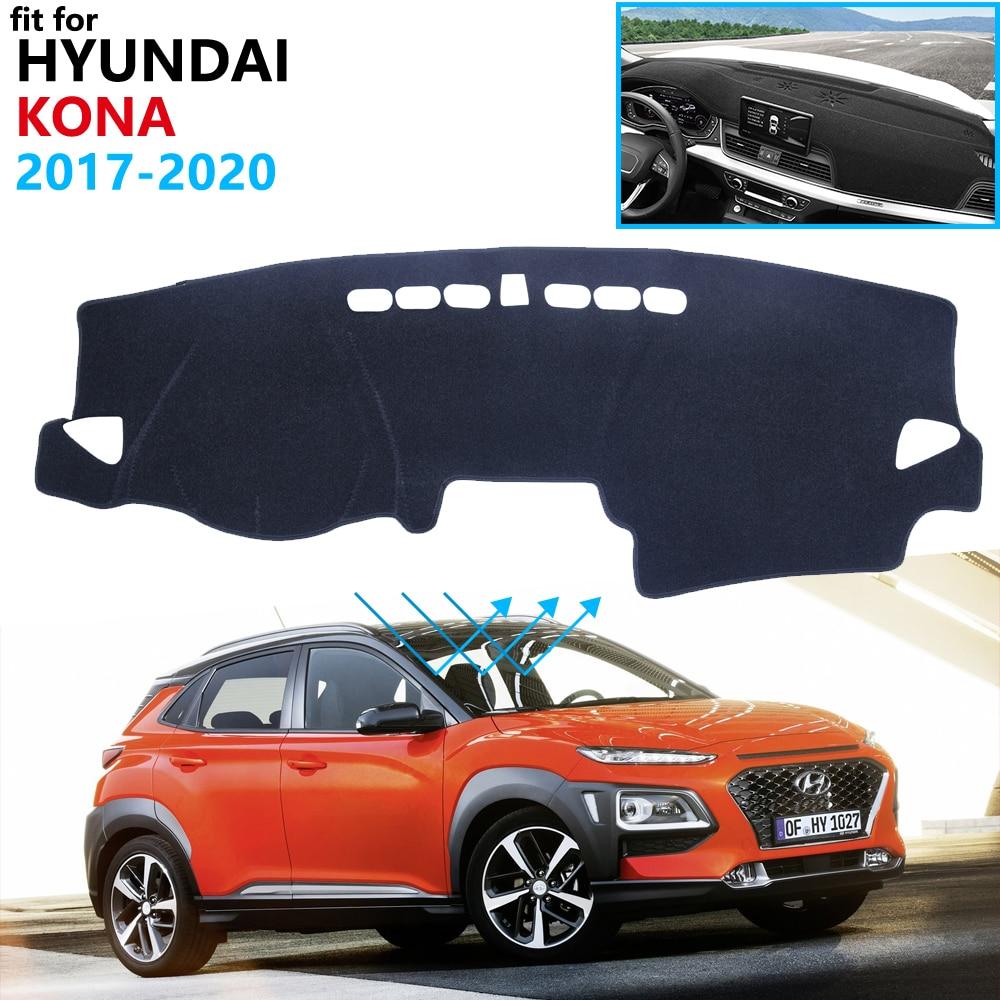 Dashboard Cover Protective Pad For Hyundai Knoa 2017 2018 2019 2020 Car Accessories Dash Board Sunshade Anti-UV Carpet Dashmat