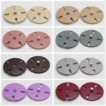 10pcs/pack Thin section invisible alloy dark buckle Korean version of metal hand-sewn button coat windbreaker snap