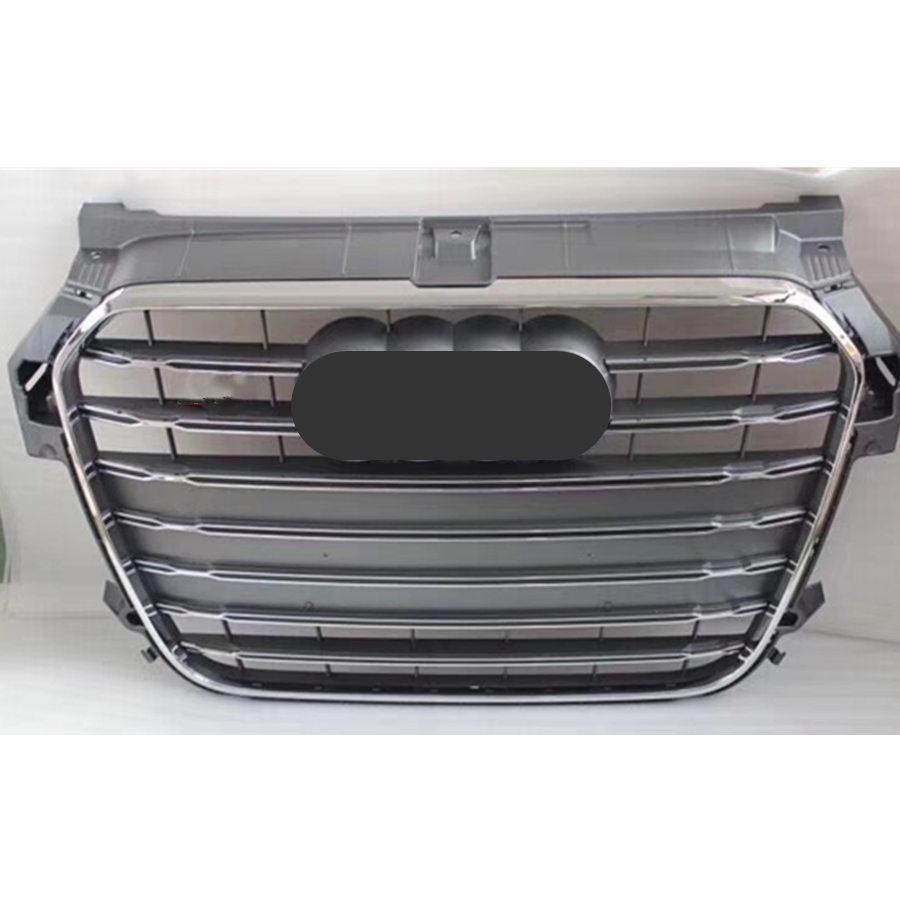 Grey Car Front Bumper Grille <font><b>Grill</b></font> for <font><b>Audi</b></font> A1/<font><b>S1</b></font> <font><b>Grill</b></font> 2010 2011 2012 2013 2014 image