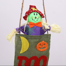Pumpkin Scarecrow Halloween Decoration Party Background Wall  Props