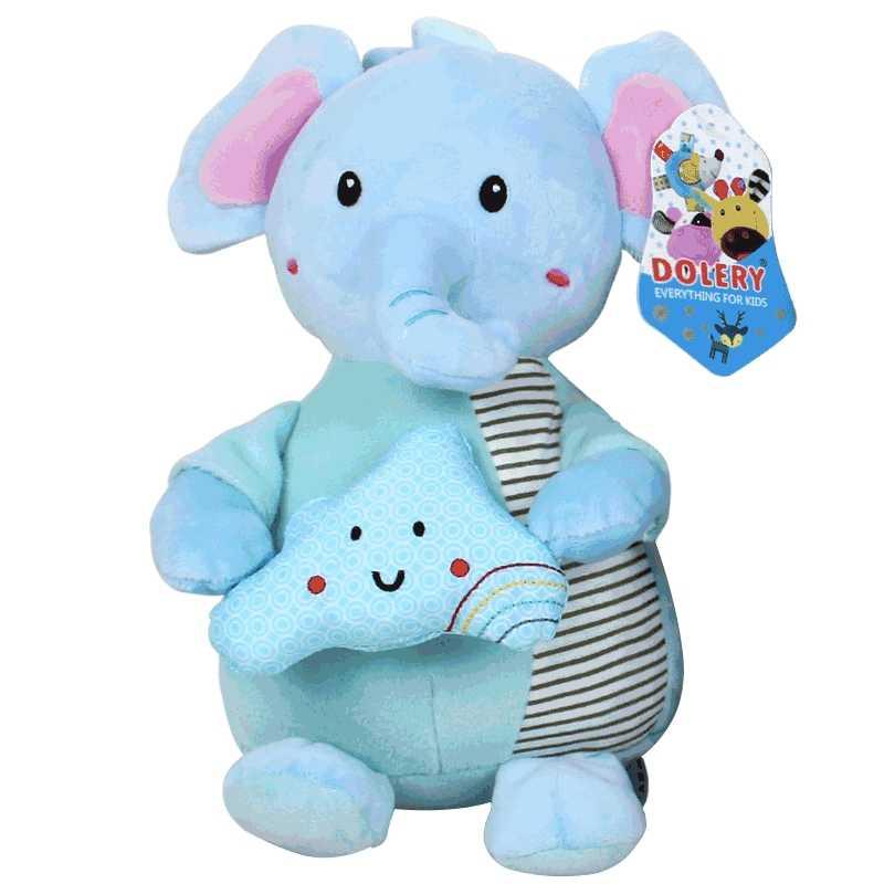 ของเล่นเด็ก 0-12 เดือนตุ๊กตาบาร์บี้ตุ๊กตาสัตว์เด็กน่ารักของเล่นเพื่อการศึกษาเด็กเพลงทารกแรกเกิดรถเข็นเด็กแขวน rattle ของขวัญ