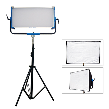 300W DMX RGB Video Studio Light 9990K Yidoblo AI-3000C Photographic Lamp Broadcast Lamp Photography Light Studio with Softbox