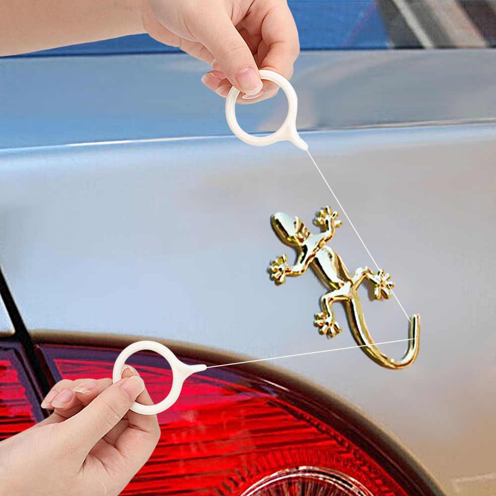 LEEPEE Metallo Sticker Peeling Off Vernice Cura Strumento di Kit Per Auto Antenna Rimuovere Universale Auto-styling Auto Logo di Rimozione Sgommatura agente