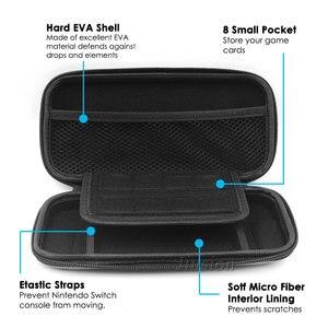 Image 5 - ハードシェルケース nintend スイッチ lite 防水旅行 eva バッグニンテンドースイッチミニコンソールアクセサリー