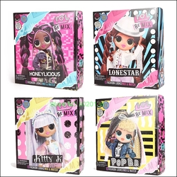 Куклы LOL Surprise с длинными волосами OMG Pop B.B. Модные экшн-игрушки с 25 фигурками сюрпризов, подарок ребенку на день рождения