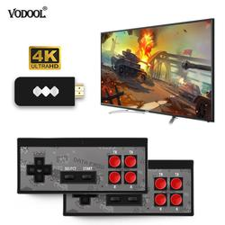 VODOOL USB Wireless Handheld TV Video Game Console Build In 600 Classic Game 8 Bit Mini Video Console Support AV/HDMI Output